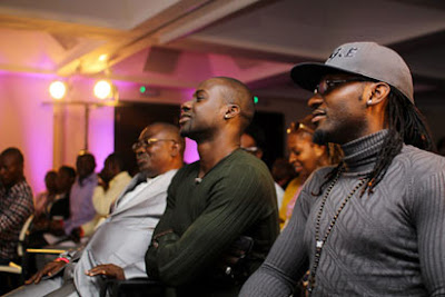 Chris Attoh &  Gbenro Ajibade