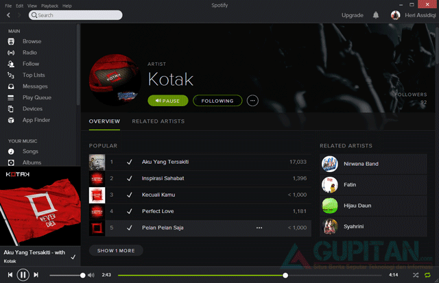 Download Spotify Black Edition Terbaru