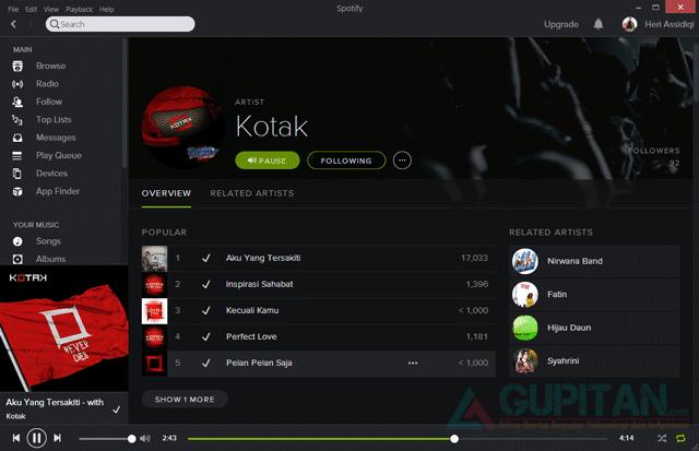 Download Spotify Black Edition Terbaru