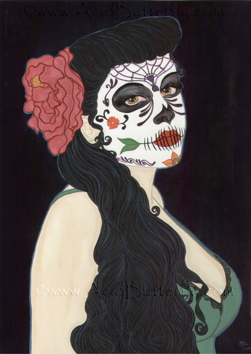 Dia De Los Muertos by Enchanted Visions' Artist, Heather Kilgore