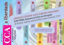 4º CICLO DE CONVERSAS AMPLAS - PRÓXIMA CONVERSA COM ELINA FRAGA, BASTONÁRIA DA ORDEM DOS ADVOGADOS