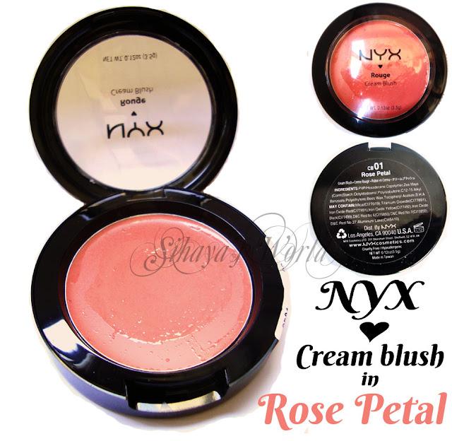 nyx cream blush