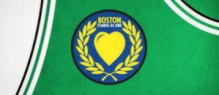 "Boston Celtics ""Stands As One"" Jersey Patch"