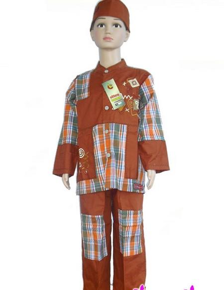 Koleksi Terkini Gambar Model Baju Anak Muslim Koko Dannis