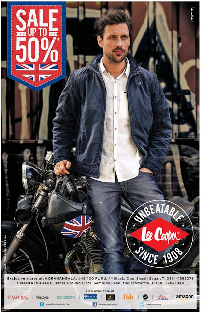 Flat 50% off on Lee cooper | Best discount offer in Lee cooper