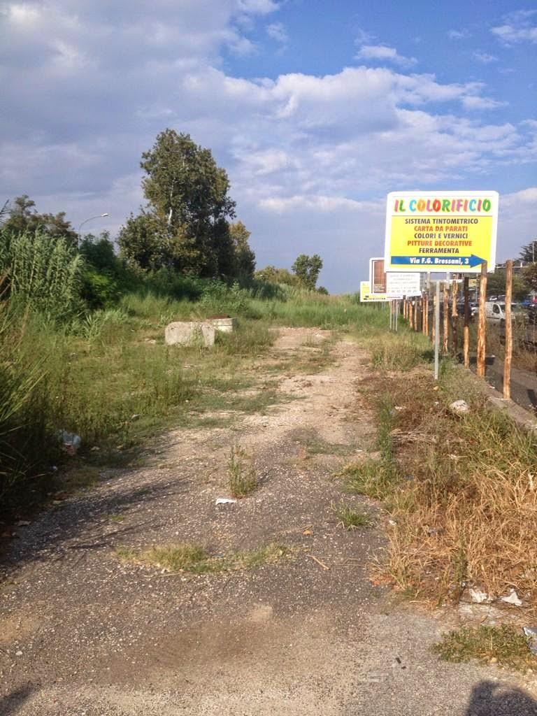 Roma-Lido: Il parcheggio di Casal Bernocchi