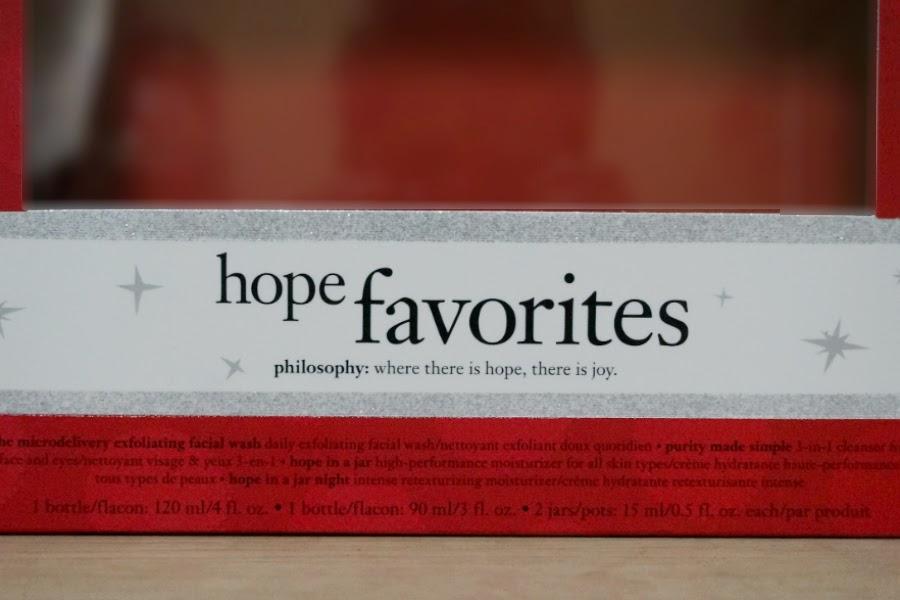 Philosophy Hope Favourites Skincare Gift Set