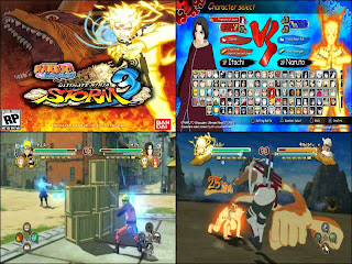 game naruto shippuden ultimate ninja storm 3, game PC
