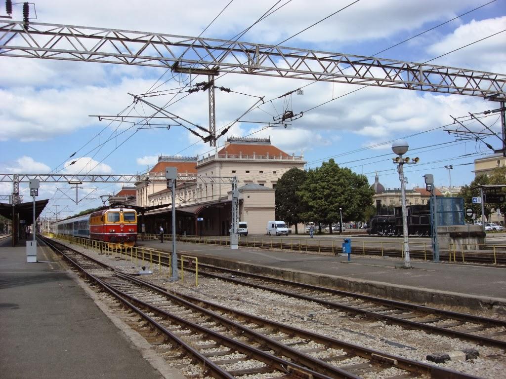 viajes internacionales en tren: