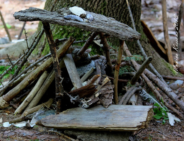 Fairy house on Mackworth