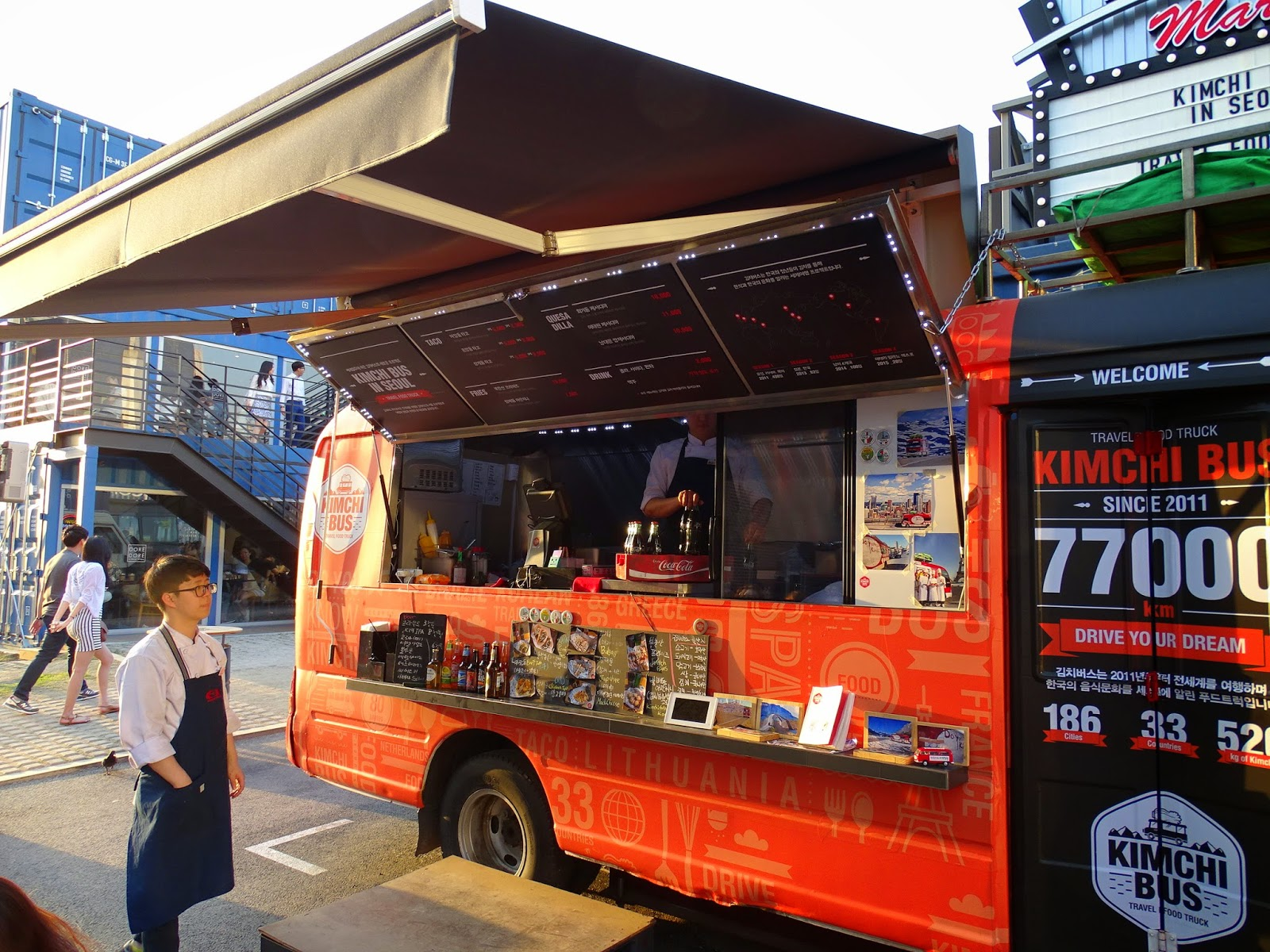 This Famous Food Truck Offers A Small Variety Of Mexican Mainly Tacos With Korean Twist