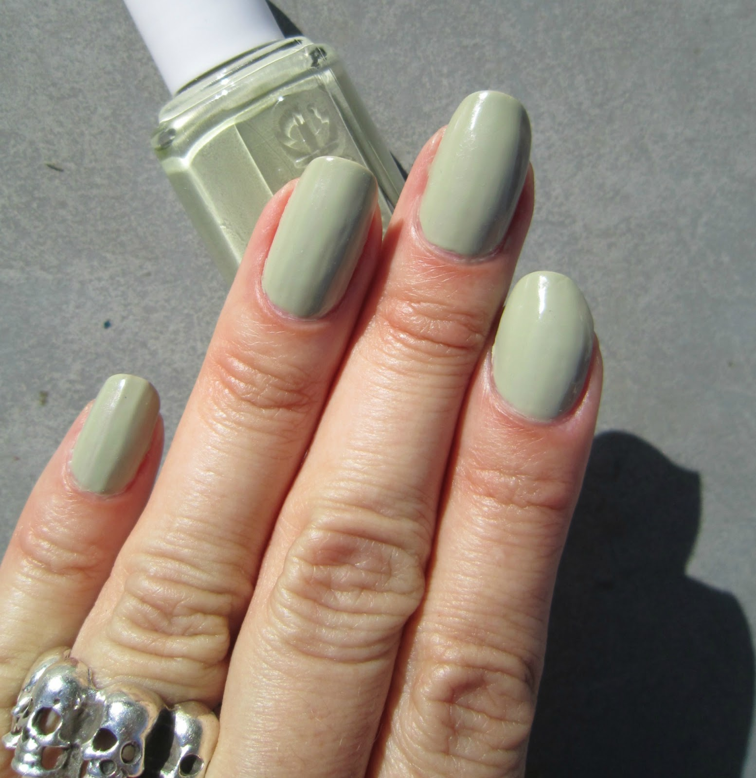 Concrete and Nail Polish: Essie