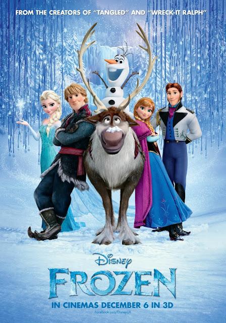 Menonton filem Frozen 3D