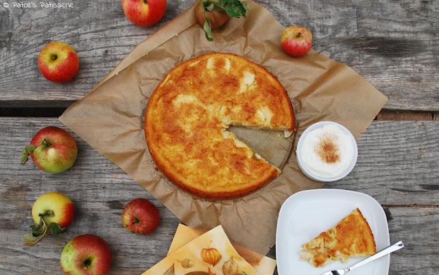patces patisserie torta di mele toskanischer apfelkuchen ein schneller dessertkuchen mit. Black Bedroom Furniture Sets. Home Design Ideas