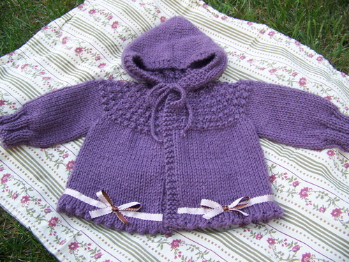 Free Knitting Patterns Baby Hooded Sweater : HOODED BABY SWEATER PATTERNS   Browse Patterns