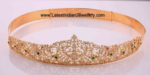 Diamond Vaddanam Changeable Stones
