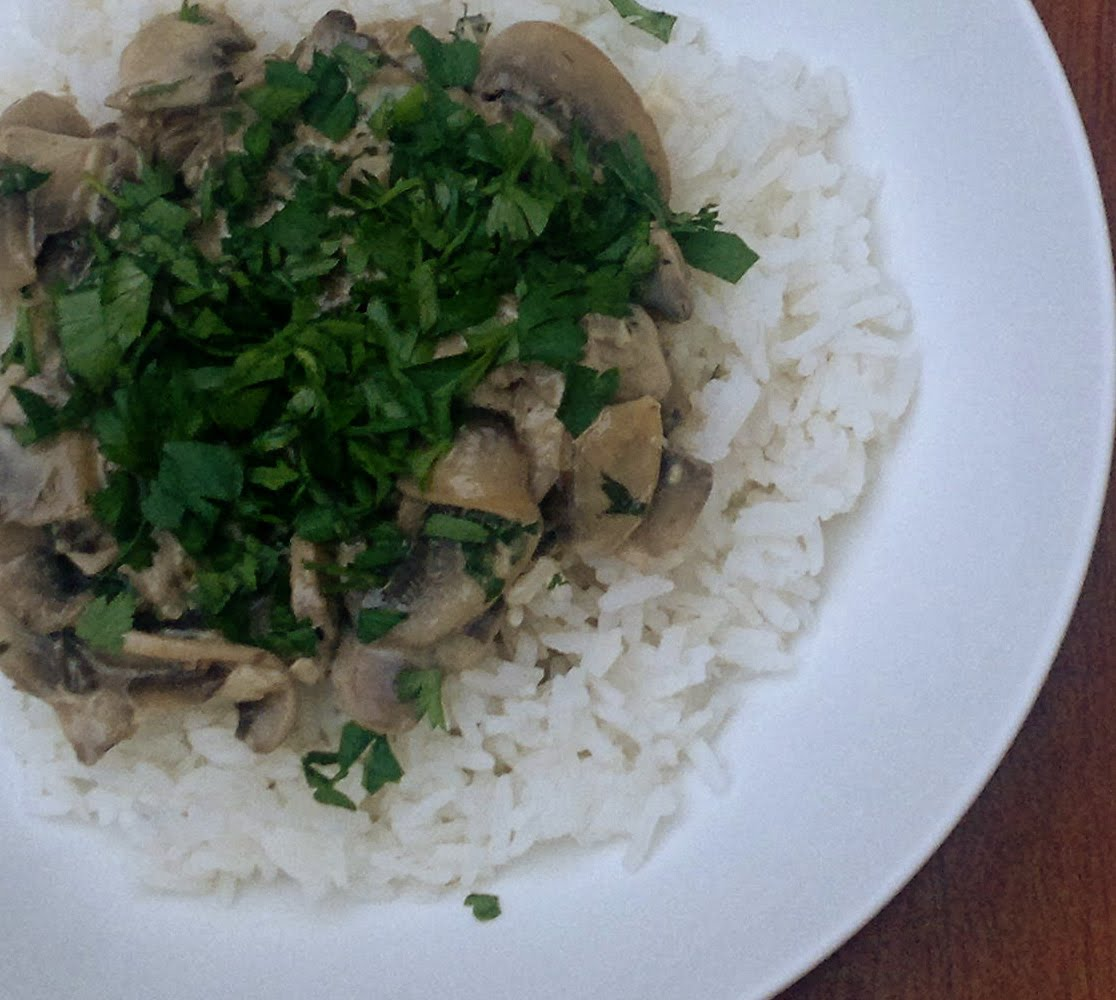 ... Mushrooms are meaty and filling and when combined with cream, herbs