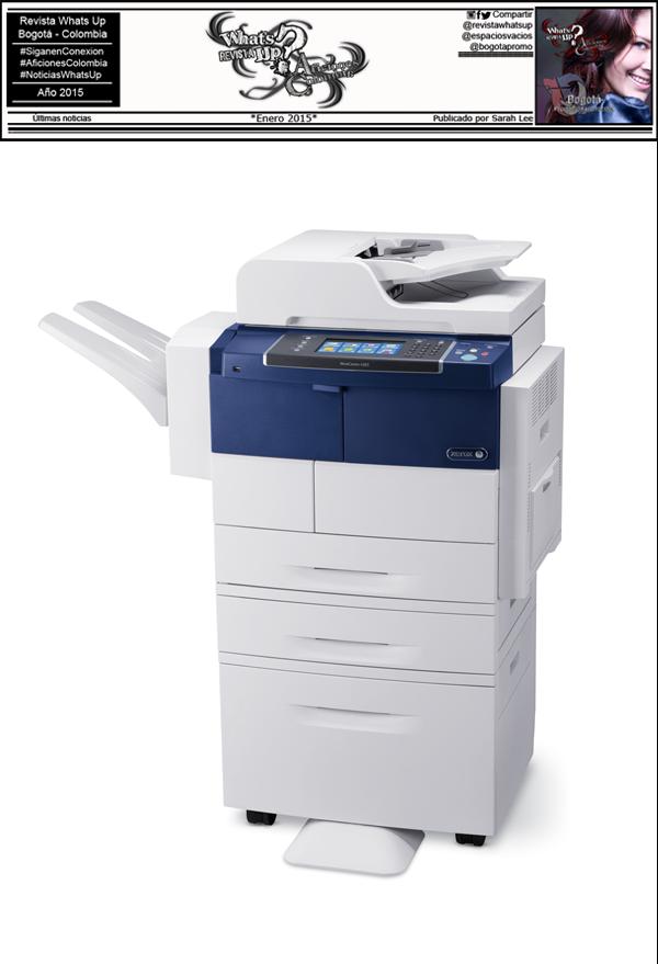 Nuevo-Dispositivo-Multifunción- Xerox-Empresas-Reducir-Costos-Ahorrar-Tiempo-impresora