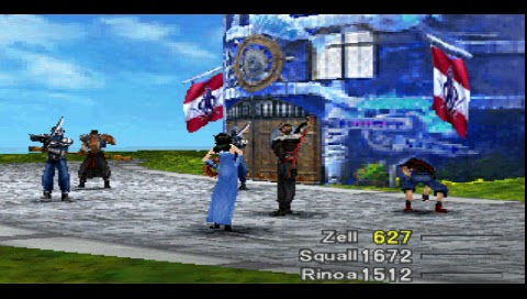Final Fantasy VIII, First Fight