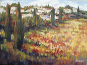 "Near Toulon 30x40"" oil on canvas"