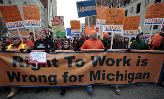 Michigan Union Busting