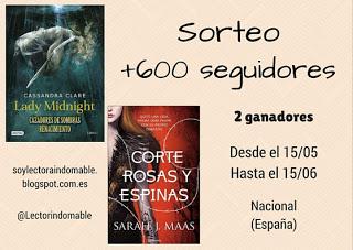 Sorteo +600 seguidores