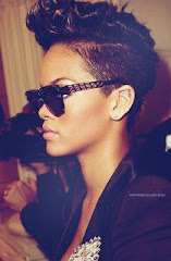 Rihanna's retro glasses