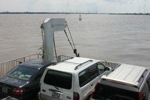 Bình Khánh ferry - Nhà Bè river