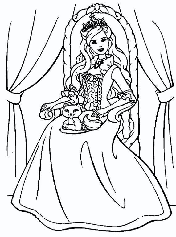 Estos Dibujos De Princesas Para Colorear Son Espectaculares