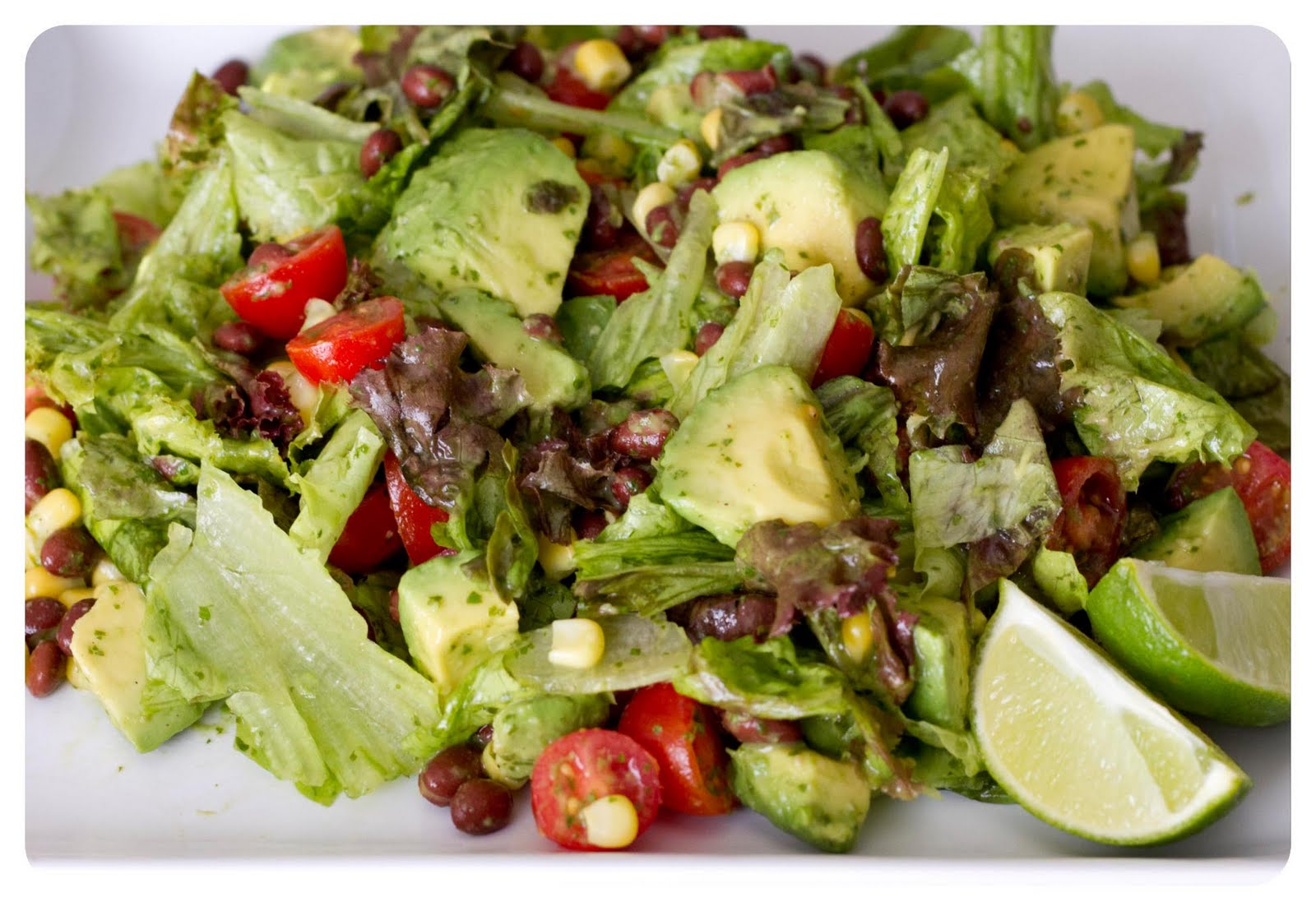 incorporate it into everything i make avocado cilantro lime salad