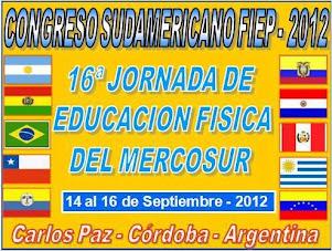 CONGRESO SUDAMERICANO FIEP - 2012