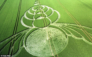 large crop circles