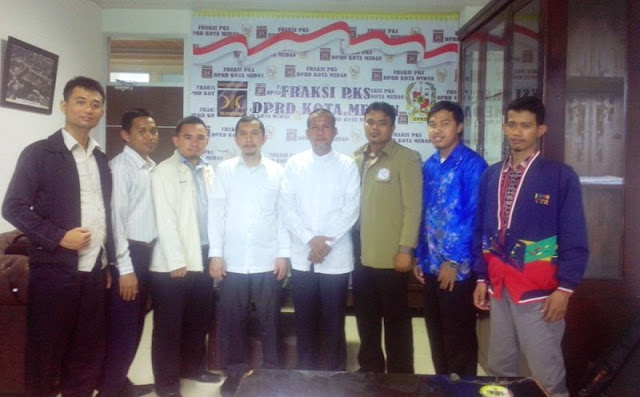 Fraksi PKS DPRD Medan Terima Kunjungan Pengurus JPRMI Kota Medan