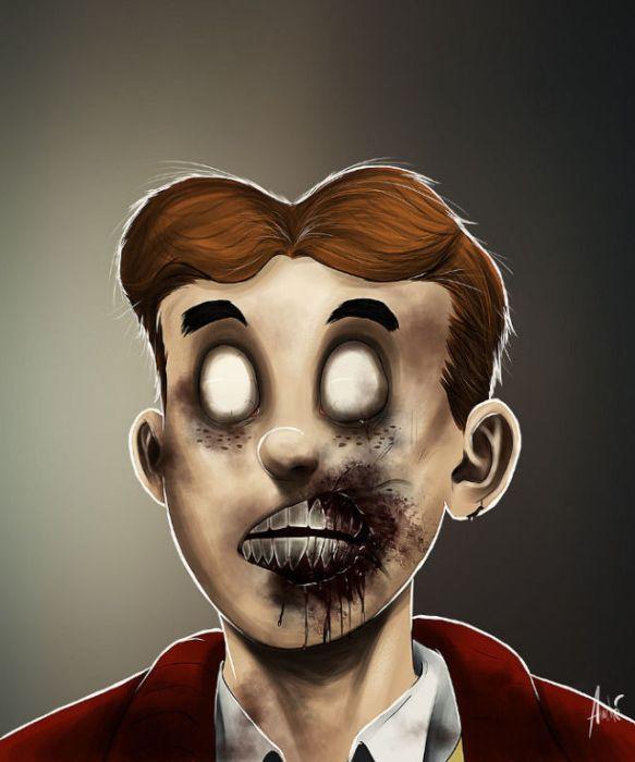 Cartoon Characters Zombies : Innova zombie cartoons photos