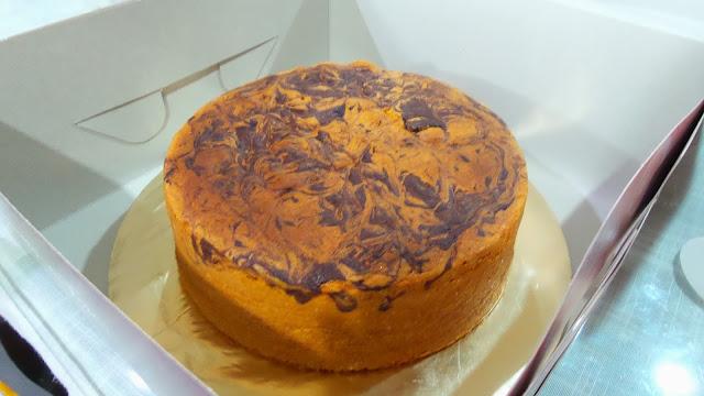 Tempahan Marble Cake di Ipoh Perak