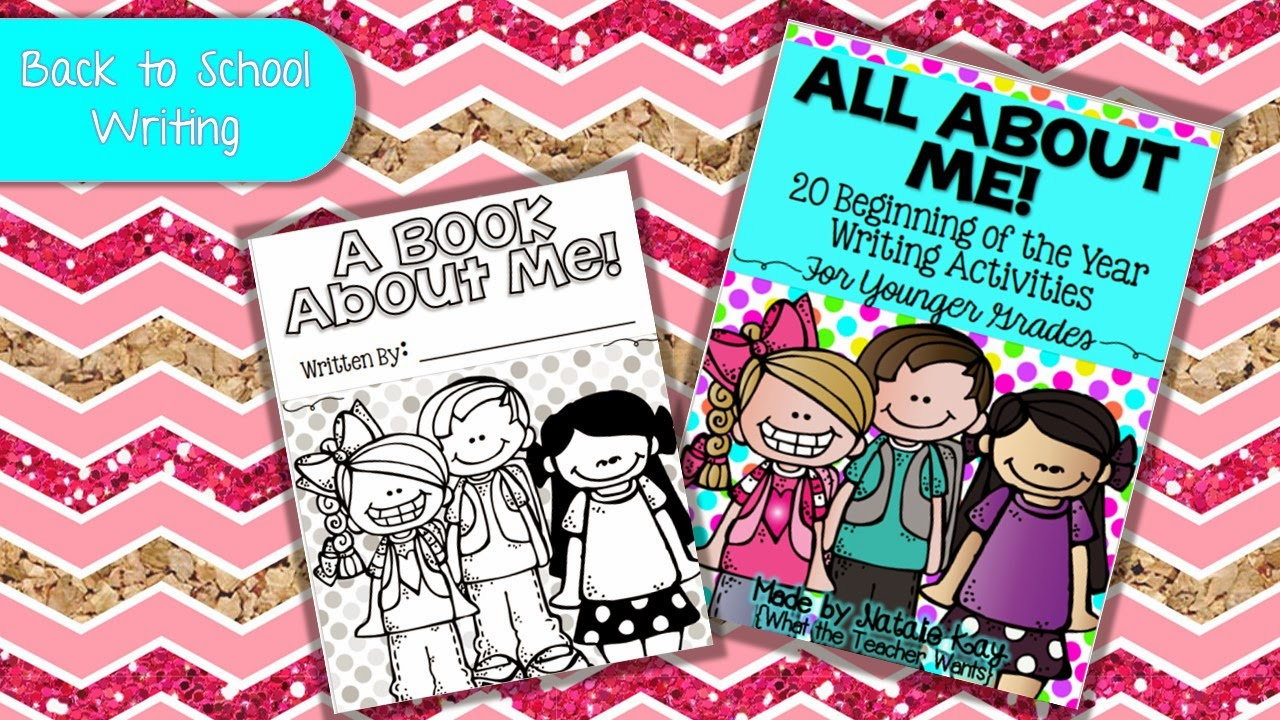 http://www.teacherspayteachers.com/Product/All-About-Me-Younger-Grades-20-Beginning-of-the-Year-Writing-Activities-1369971