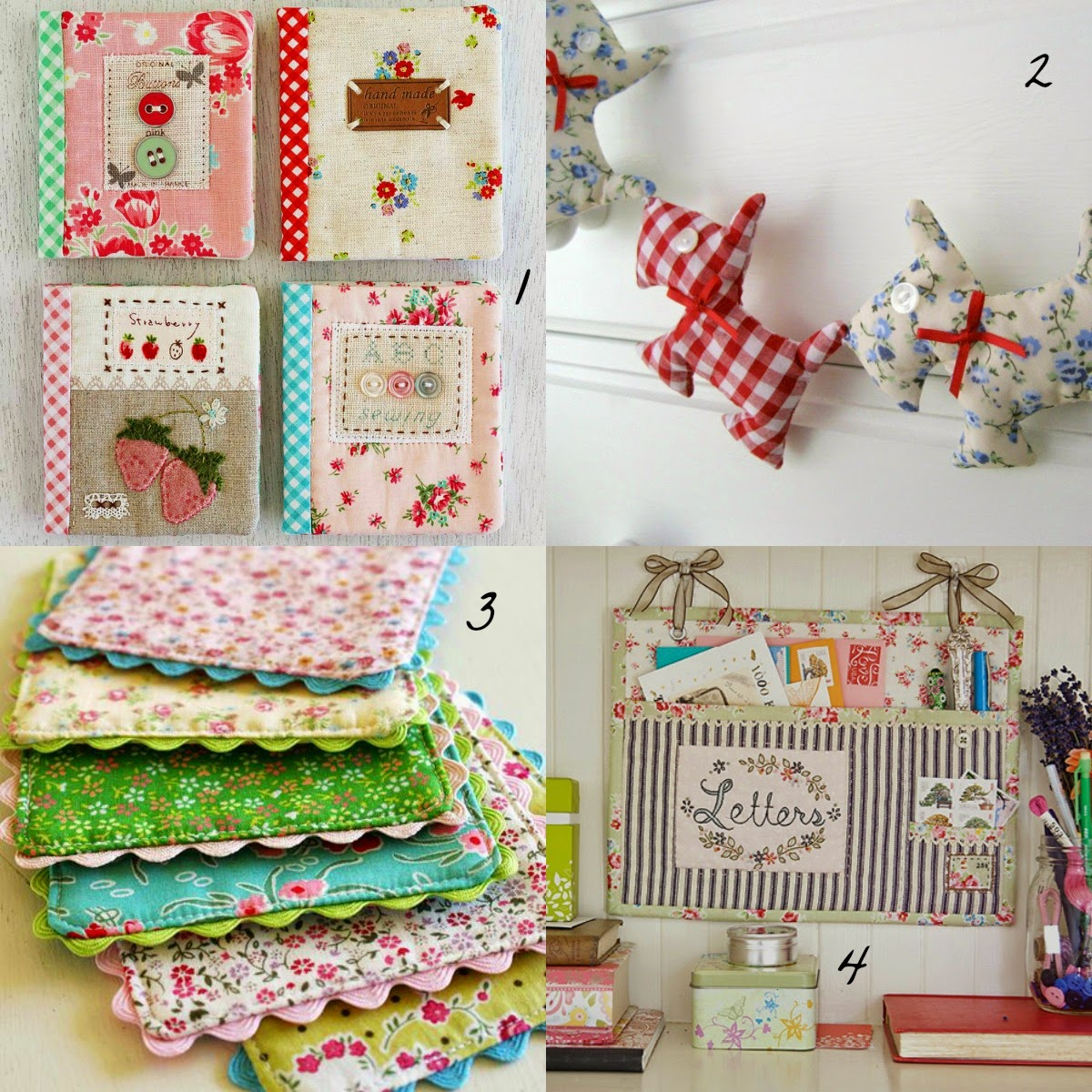 Missmajorita 19 ideas originales para hacer con patchwork for Ideas originales para casa