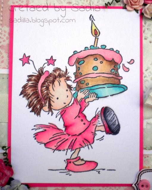 Popolare Sadilla's Blog: Buon Compleanno piccolina! XV75