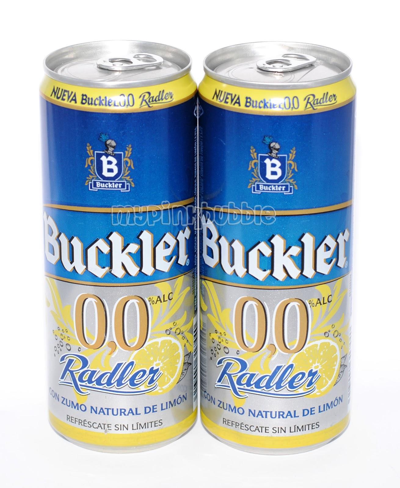 Cerveza Buckler 0,0 Radler
