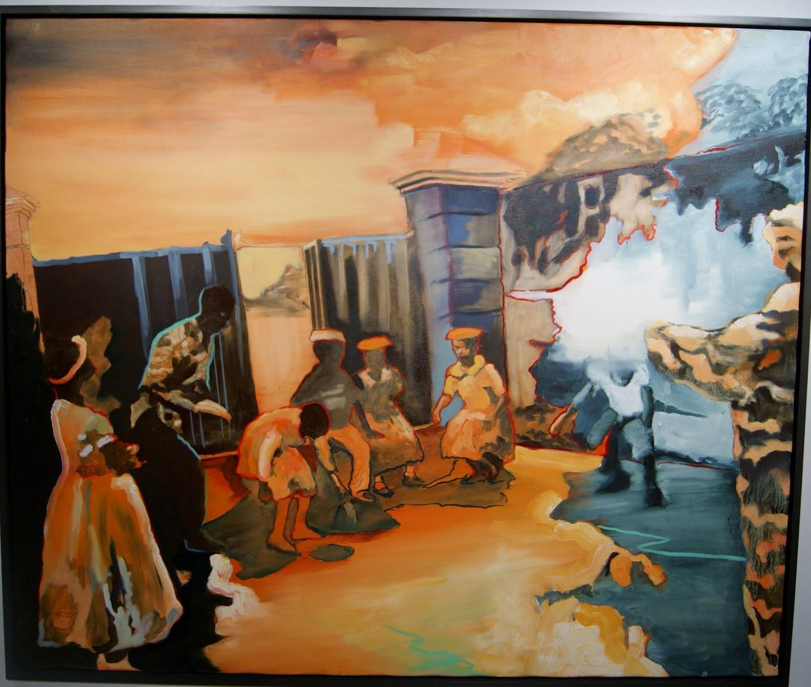 BMO 1st Art! Student Competition Exhibit at MOCCA: Alberta Winner, Conundrum, Emmanuel Osahor, Culture, Contemporary, Artmatters, Museum, Toronto, Ontario, Canada, The Purple Scarf, Melanie.Ps