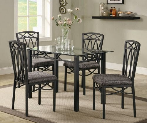 5pc dining table and chairs set