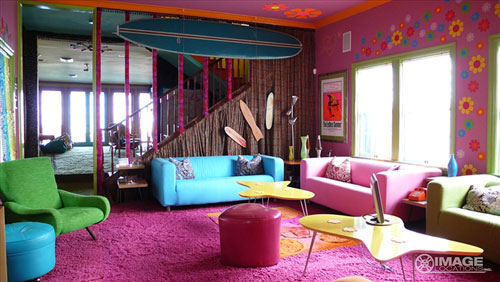 Unique colorful interior designs ideas home design ideas - Colorful teen bedroom designs ...