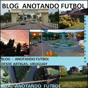 BLOG : ANOTANDO FUTBOL