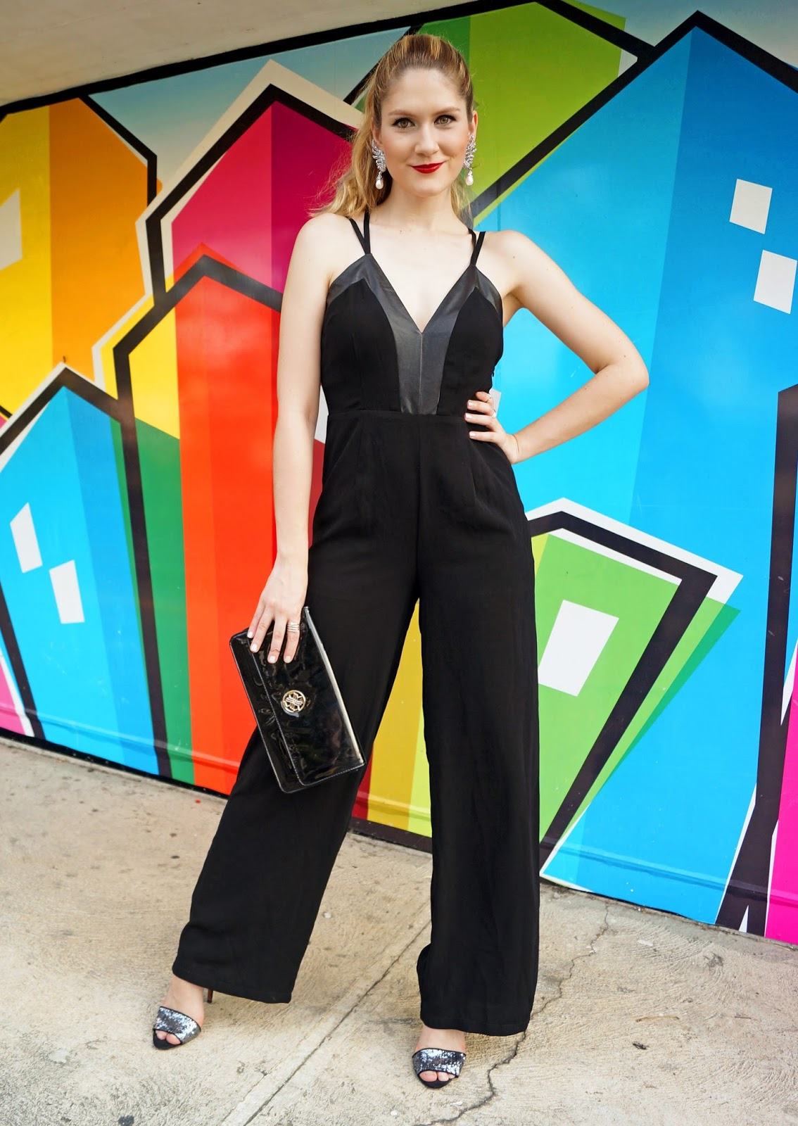 Jumpsuits are a great alternative to dresses when dressing up for al elegant event!