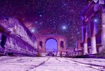 pompeya - Los templos de Pompeya estaban alineados con las estrellas