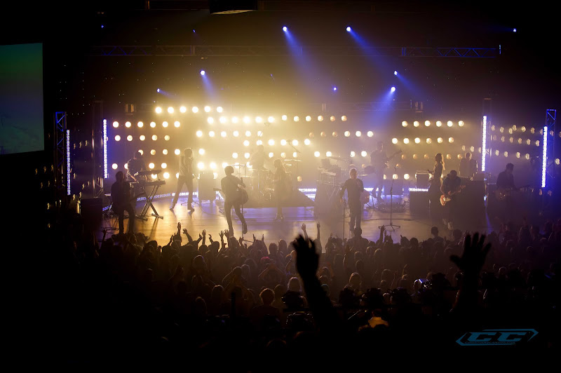 Elevation Worship - For the Honor 2011 live performance on stage
