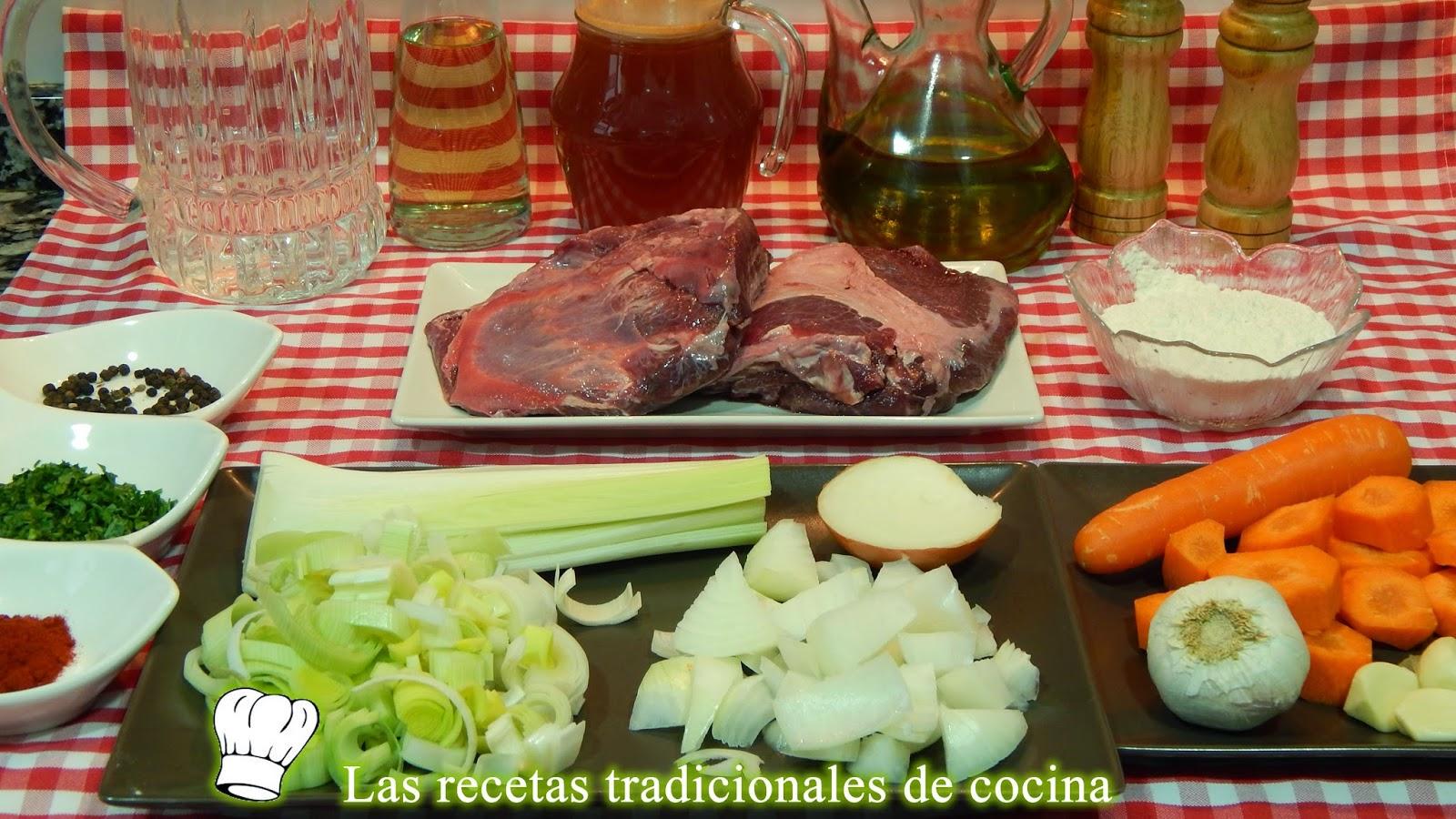 Receta de carrilleras de ternera en salsa