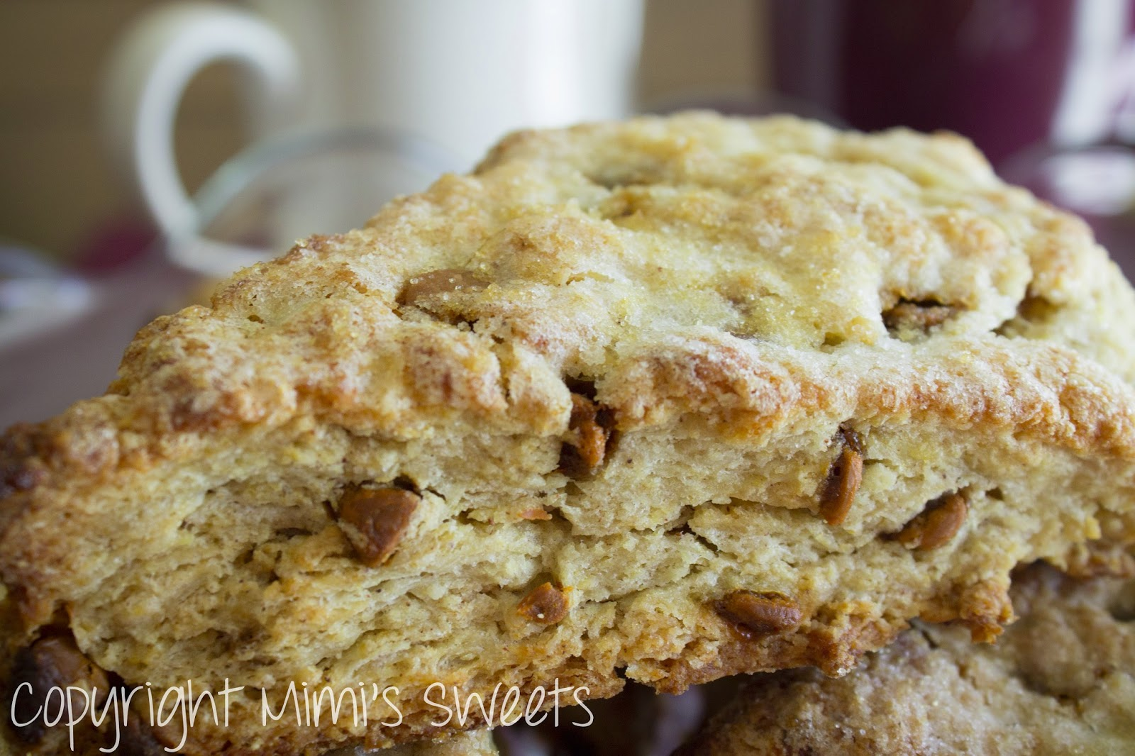 Mimi's Sweets: Scones... Lots of Scones: Cinnamon Chip and Toffee ...