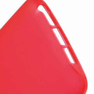 Frosted TPU Jelly Case for LG Optimus G2 D801 D802 - Red