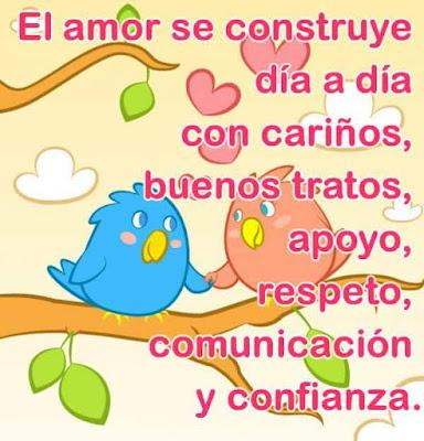El Amor Se Construye |  Imagenes De Amor